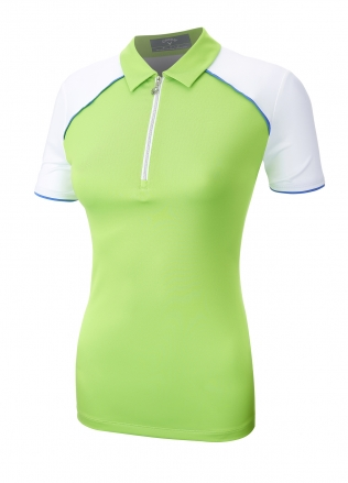 Callaway Ladies 1/4 Zip Colour Block Polo
