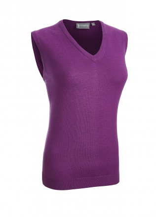 Glenmuir Ladies Leona Merino V-Neck Slipover
