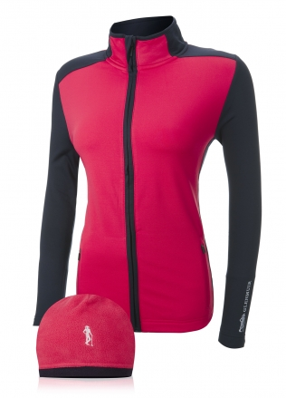 Glenmuir Ladies Fleece Midlayer & Hat Set