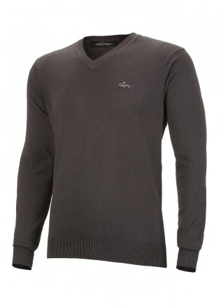 Greg Norman Luxury Cotton V-Neck Golf Sweater