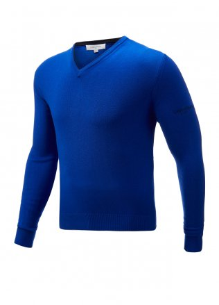 Calvin Klein Golf Cotton Blend V-Neck Sweater