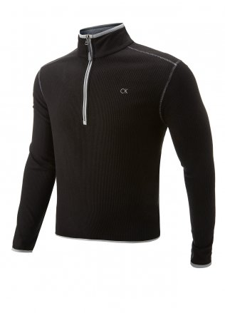 Calvin Klein Fleece Lined Golf Pullover