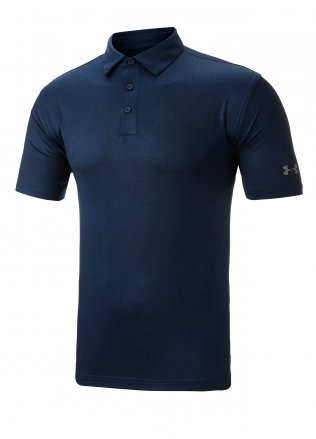 Under Armour Playoff Tweed Golf Polo Shirt