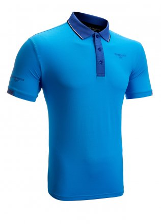 Glenmuir Contrast Tipped Golf Polo Shirt