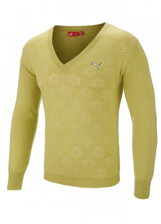 Puma Knitted V-Neck Golf Sweater