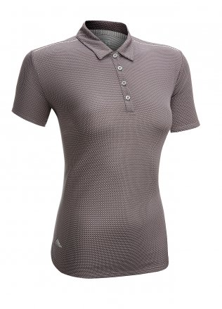 Adidas Ladies Microdot Golf Polo Shirt