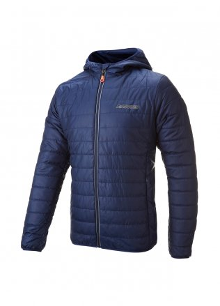 Mens Thermal Quilted Hooded Puffa Jacket