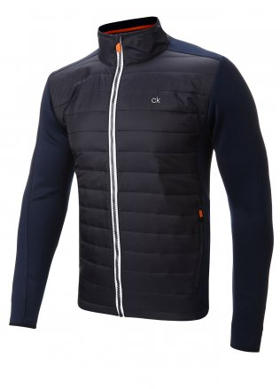 Outerwear Fleeces Navy Calvin Klein Quilted Insulated