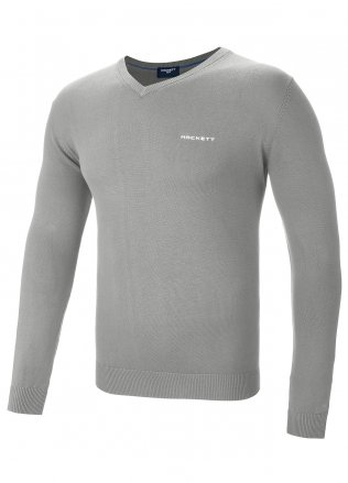Hackett Golf V-Neck Cotton Sweater