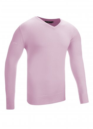 Glenmuir Eden V-Neck Cotton Golf Sweater
