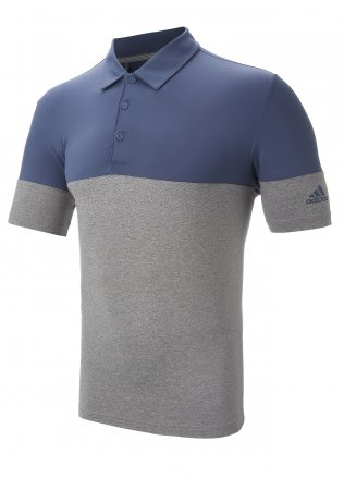 Adidas Ultimate 2.0 All Day Blocked Polo Shirt