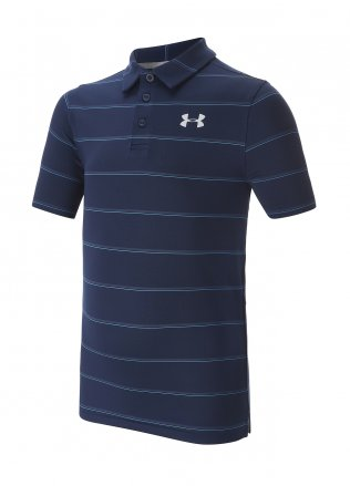 Under Armour Youth Play Off Striped Polo