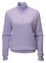 buy JRB Ladies 1/4 Zip Knitted Lined Sweater