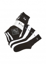 buy Pringle Men's Half Cushioned Sport's Socks 5 Pack