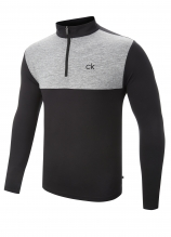 buy Calvin Klein Contrast Smart Tec 1/4 Zip Midlayer