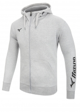buy Mizuno Terry Full Zip Hoodie