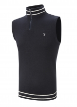 buy Farah Sleeveless 1/4 Zip Slipover