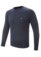buy Farah Pablo Crew Neck Cotton Sweater