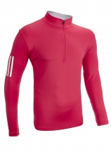 buy Adidas 3 Stripe Midweight 1/2 Zip Midlayer