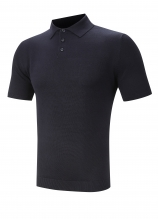 buy Henbury Knitted Short Sleeved Polo