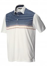 buy Greg Norman Playdry Pattern Polo Shirt
