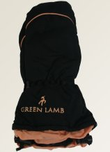 buy Green Lamb Winter Mitts