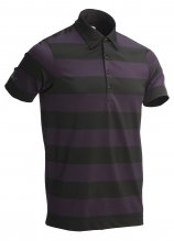 buy Greg Norman Rugby Stripe Golf Polo Shirt