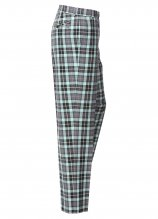 buy Stromberg Flat Front Check Golf Trousers