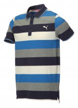 buy Puma Stripe Pique Golf Polo Shirt