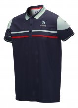 buy Sunderland Overlay Stripe Polo Shirt