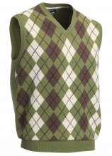 buy Glenmuir Intarsia Golf Slipover