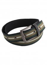 buy Glenmuir Stripe Webbing Golf Belt
