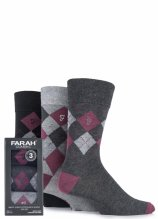 buy Farah 3 Pair Argyle Socks