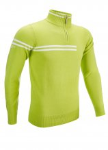 buy Glenmuir Zip Neck Stripe Golf Sweater