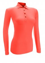 buy Greg Norman Ladies Long Sleeve Polo Shirt