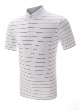 buy Greg Norman Protek Fine Stripe Golf Polo Shirt