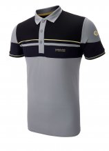 buy Sunderland Double Stripe Golf Polo Shirt