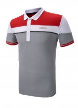 buy Sunderland Panel Stripe Golf Polo Shirt