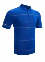 buy Glenmuir Stripe Performance Golf Polo Shirt