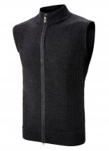 buy Callaway Water Repellent Sleeveless Merino Golf Cardigan