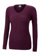 buy Puma Ladies Cable Knit Golf Sweater