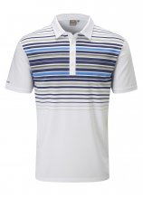 buy PING SensorCool Striped Golf Polo Shirt