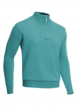 buy Glenmuir Lambswool Zip Golf Sweater