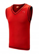 buy Puma Junior Plain Knit Golf Slipover
