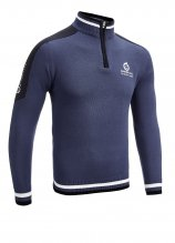 buy Sunderland Block Colour 1/4 Zip Sweater