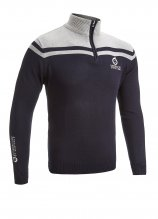 buy Sunderland Panel Shoulder 1/4 Zip Sweater