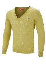 buy Puma Knitted V-Neck Golf Sweater