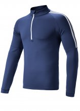 buy Adidas Golf 3 Stripe 1/4 Zip Pullover