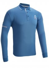 buy Sunderland L/S Tipped Collar Golf Polo Shirt