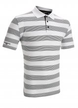 buy Glenmuir Compton Stripe Mercerised Golf Polo Shirt